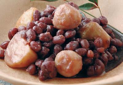 小豆と小芋のいとこ煮