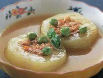青瓜の肉詰めコンソメ煮