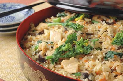 山菜 おこわ レシピ 人気