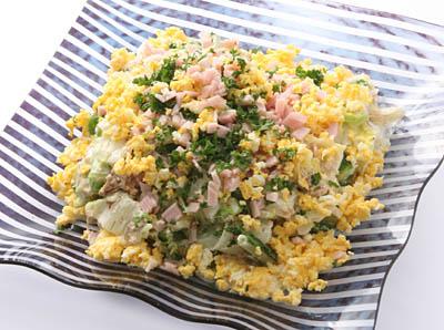 ゆで白菜のサラダ