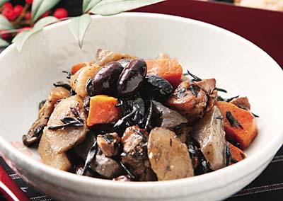 黒大豆の五目煮