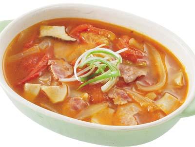 トマトの煮込みスープ