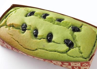 丹波高原ねぎと黒豆のパウンドケーキ