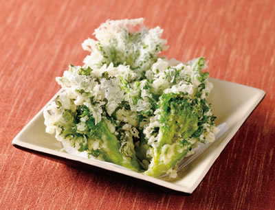 花菜の天ぷら