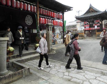 初詣ウォーキングで7社寺を巡る