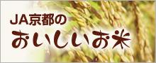 JA京都のおいしいお米