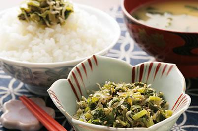 大根葉の常備菜